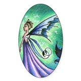 Fairy Queen Mab Oval Decal
