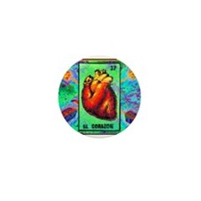 El Corazon & Arrows Mini Button (10 pack)