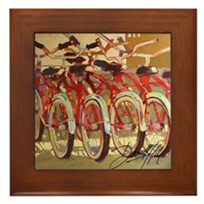 Retro Bike Framed Tile