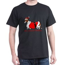 Red Piebald Santa T-Shirt