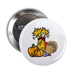 """Thanksgiving Harvest 2.25"""" Button (100 pack)"""