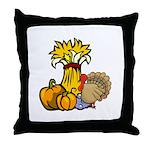 Thanksgiving Harvest Throw Pillow