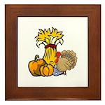Thanksgiving Harvest Framed Tile