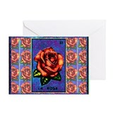 La Rosa & Friends Greeting Card