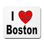 I Love Boston Mousepad