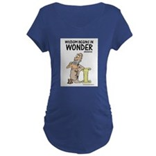 Wisdom Begins in Wonder T-Shirt