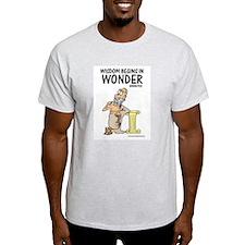 Wisdom Begins in Wonder T-Shirt