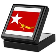 NLD BURMA FLAG Keepsake Box