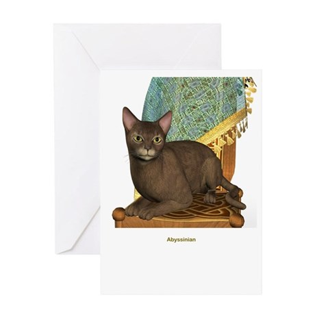 Abysinnian Greeting Card