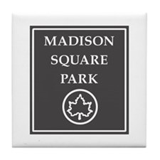 Madison Square Park, NYC - USA Tile Coaster