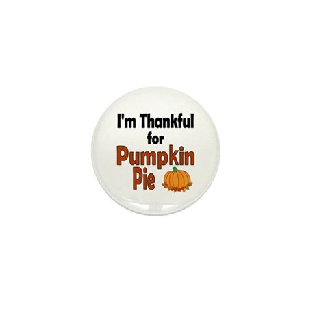 Thanksgiving Pumpkin Pie Mini Button (100 pack)