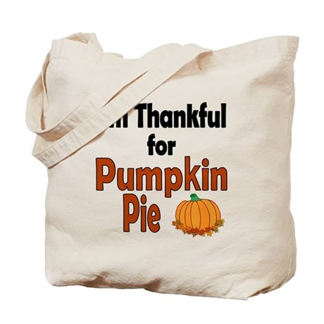Thanksgiving Pumpkin Pie Tote Bag