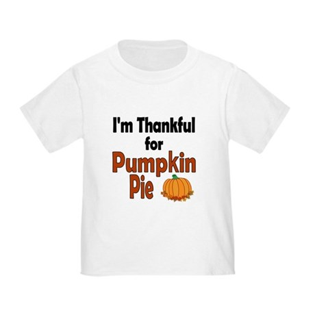 Thanksgiving Pumpkin Pie Toddler T-Shirt