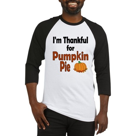 Thanksgiving Pumpkin Pie Baseball Jersey