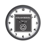 Strawberry Fields, NYC - USA Wall Clock