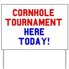 Cornhole Bags Tournament Sign - Signs