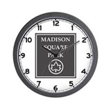Riverside Park, NYC - USA Wall Clock