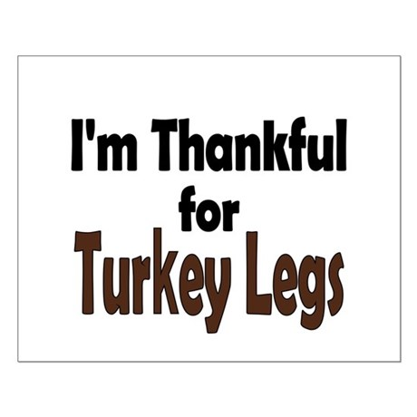 Thanksgiving Turkey Leg Small Poster