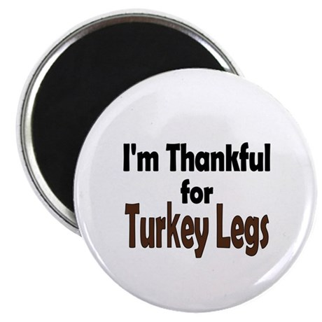 "Thanksgiving Turkey Leg 2.25"" Magnet (10 pack)"