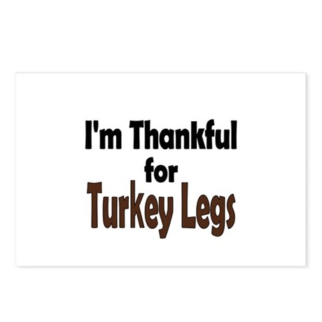 Thanksgiving Turkey Leg Postcards (Package of 8)
