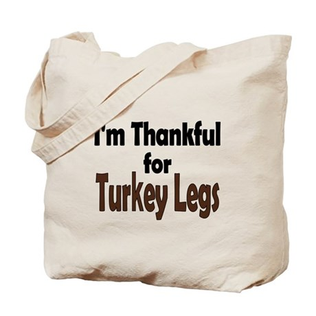 Thanksgiving Turkey Leg Tote Bag