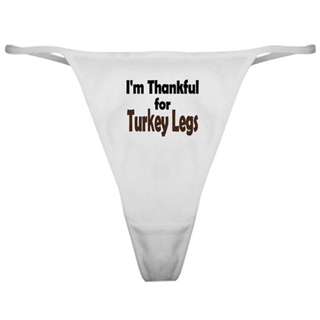 Thanksgiving Turkey Leg Classic Thong