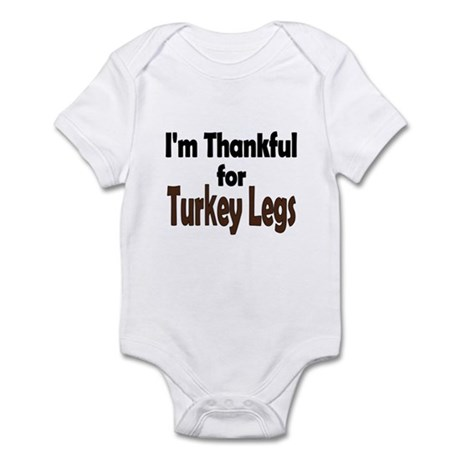 Thanksgiving Turkey Leg Infant Bodysuit