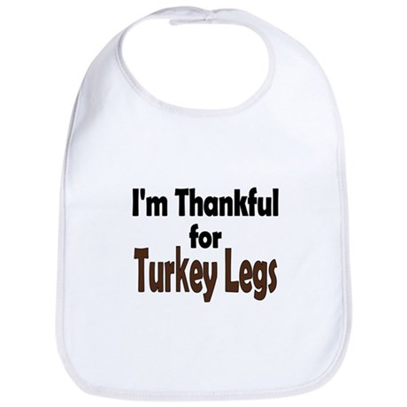 Thanksgiving Turkey Leg Bib