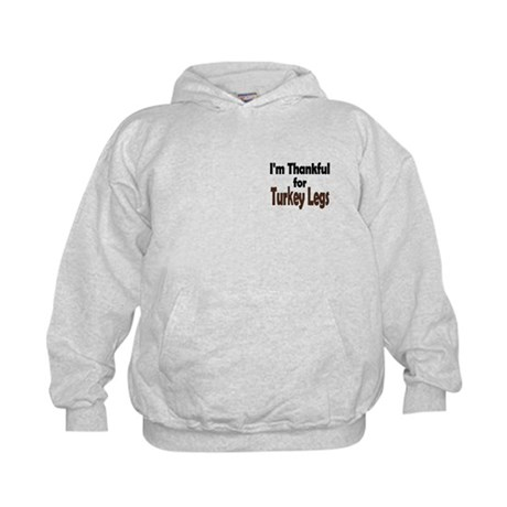 Thanksgiving Turkey Leg Kids Hoodie