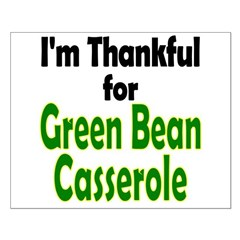 Green Bean Casserole Thanksgiving Small Poster