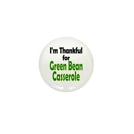 Green Bean Casserole Thanksgiving Mini Button
