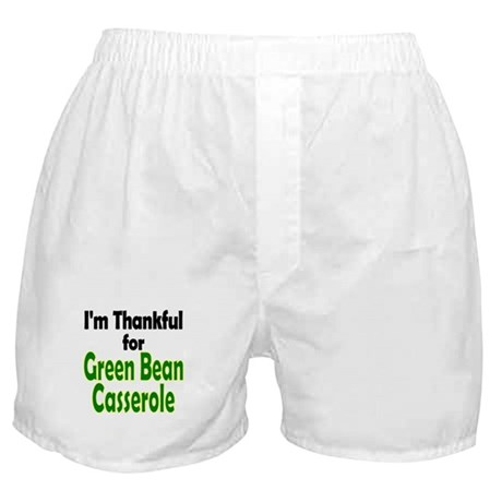 Green Bean Casserole Thanksgiving Boxer Shorts