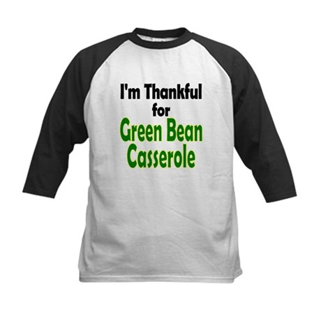Green Bean Casserole Thanksgiving Kids Baseball Je