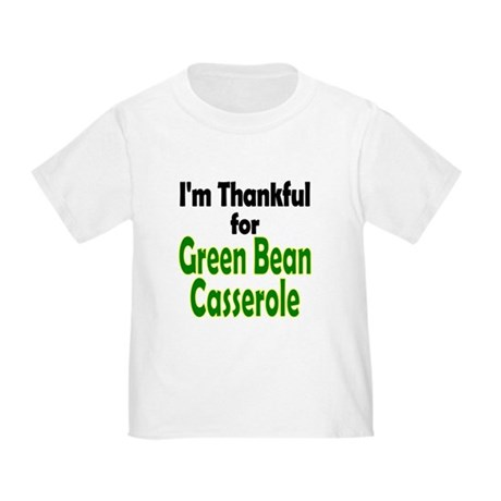 Green Bean Casserole Thanksgiving Toddler T