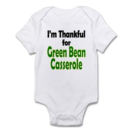 Green Bean Casserole Thanksgiving Infant Bodysuit
