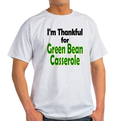 Green Bean Casserole Thanksgiving Light T-Shirt