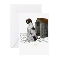 German Short Hair Greeting Card