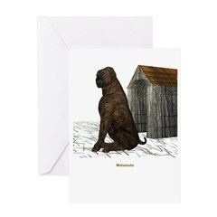 Mastiff Greeting Card