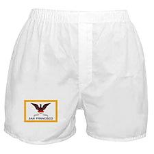 San Francisco Flag Boxer Shorts