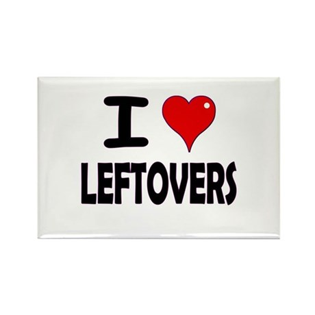 Thanksgiving Leftovers Rectangle Magnet (100 pack)