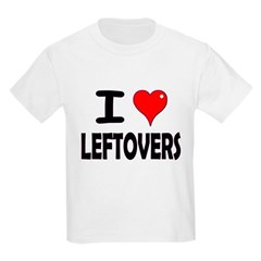 Thanksgiving Leftovers Kids Light T-Shirt