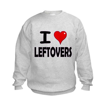 Thanksgiving Leftovers Kids Sweatshirt