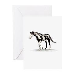 Horse (Piebald) Greeting Card