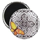 "Butterflies & Lace 2.25"" Magnet (10 pack)"