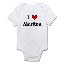 I Love Maritza Infant Bodysuit