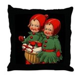 Christmas Holly Kids Throw Pillow