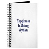 Happiness is being Aydan Journal