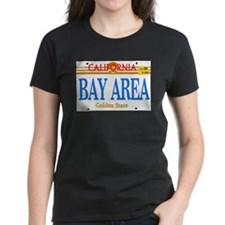 BAY AREA -- LINCENSE PLATE Tee