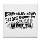 It's more than a concert Tile Coaster