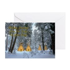 Tipi Village Christmas Cards (Pk of 20)